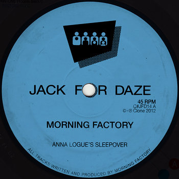 Cover art - Morning Factory: Anna Logue's Sleepover