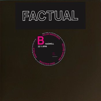 Cover art - Russell Haswell: Factual