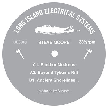 Cover art - Steve Moore: Panther Moderns EP
