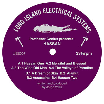 Cover art - Professor Genius: Hassan