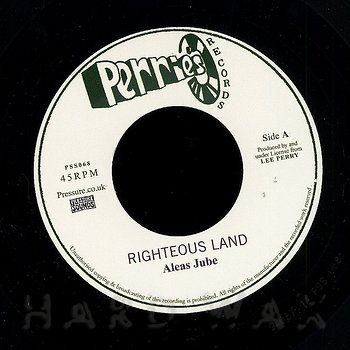 Cover art - Aleas Jube: Righteous Land