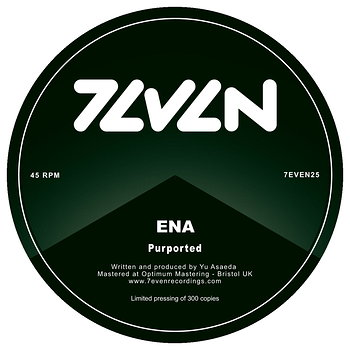 Cover art - Ena: Purported