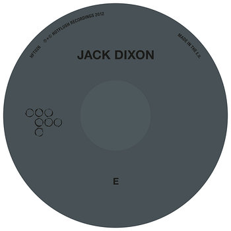 Cover art - Jack Dixon: E