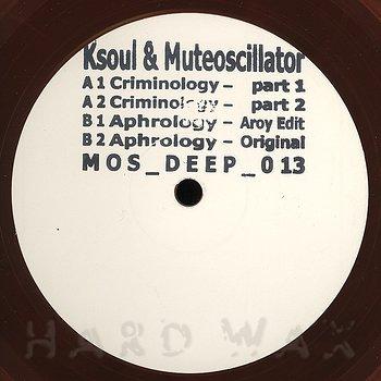 Cover art - Ksoul & Muteoscillator: Aphrology