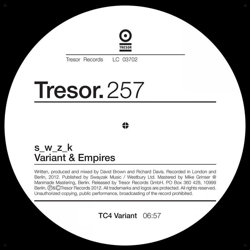 Cover art - S_W_Z_K: Variant & Empires EP