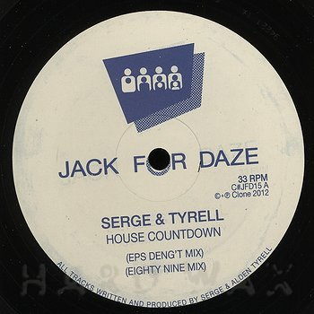 Cover art - Serge & Tyrell: House Countdown