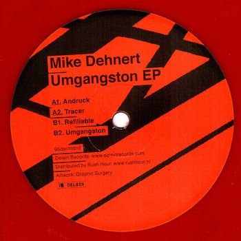 Cover art - Mike Dehnert: Umgangston