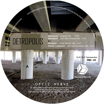 Cover art - Optic Nerve: Detropolis EP