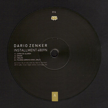 Cover art - Dario Zenker: Installment 4809N