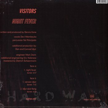 Cover art - Visitors: Night Fever
