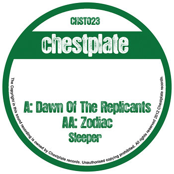 Cover art - Sleeper: Dawn of The Replicants