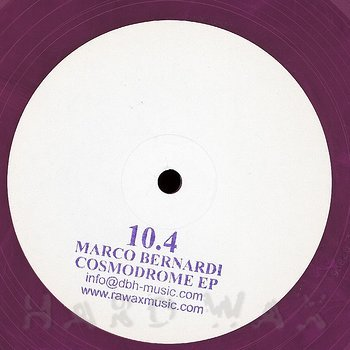 Cover art - Marco Bernardi: Cosmodrome EP