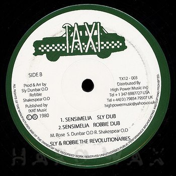 Cover art - Black Uhuru: Sensiminia