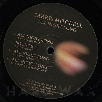 Cover art - Parris Mitchell: All Night Long EP