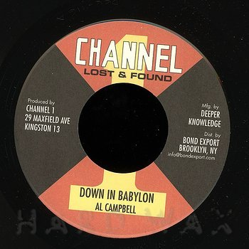 Cover art - Al Campbell: Down In Babylon