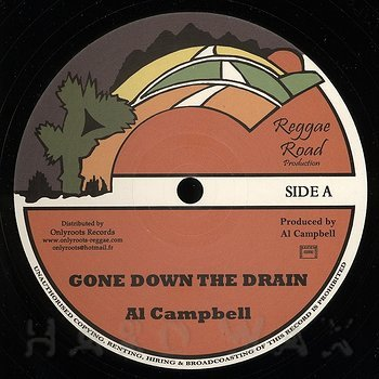 Cover art - Al Campbell: Gone Down The Drain