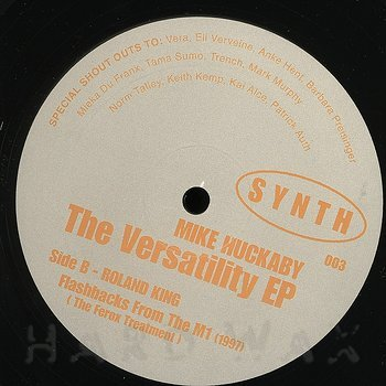 Cover art - Mike Huckaby: The Versatility EP