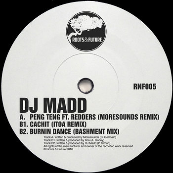 Cover art - DJ Madd: Peng Teng Remixes