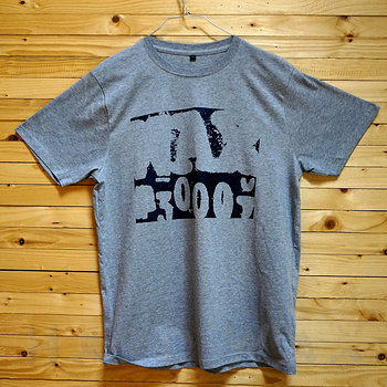 Cover art - Organic T-Shirt, Size L: Melange Grey