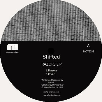 Cover art - Shifted: Razors EP