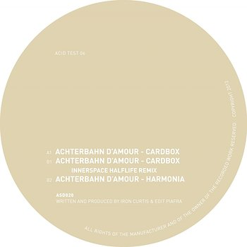 Cover art - Achterbahn D'Amour: Acid Test 06