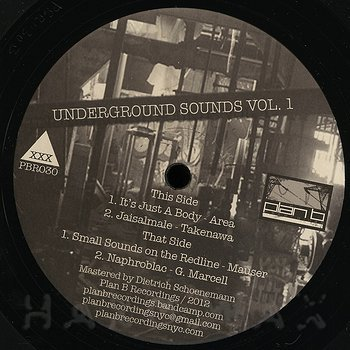 Cover art - Various Artists: Underground Sounds Vol.1