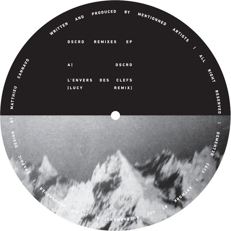 Cover art - Dscrd: Remixes EP