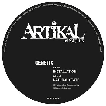 Cover art - Genetix: Installation