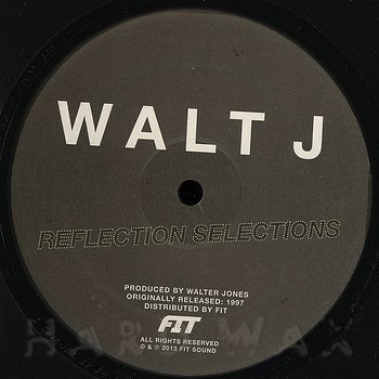 Cover art - Walt J: Reflection Selections