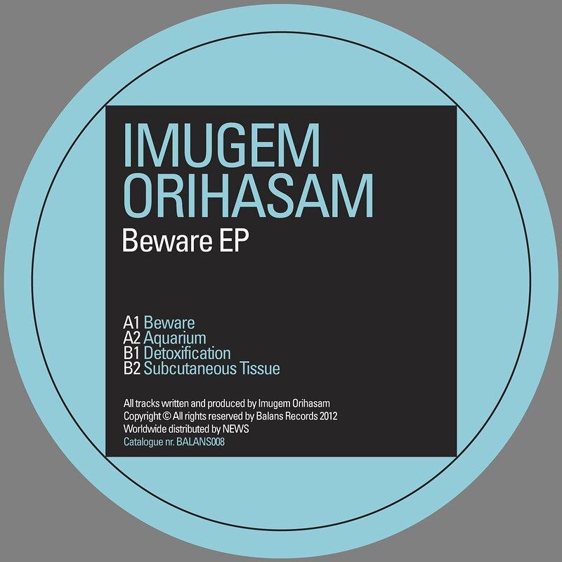Cover art - Imugem Orihasam: Beware EP