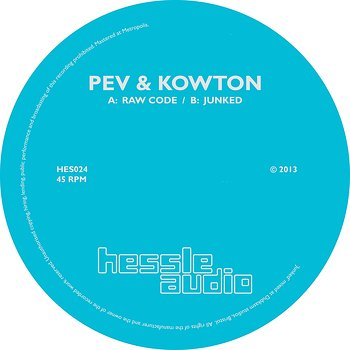Cover art - Pev & Kowton: Raw Code