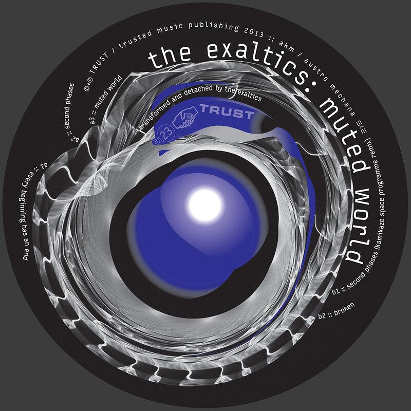 Cover art - The Exaltics: Muted World