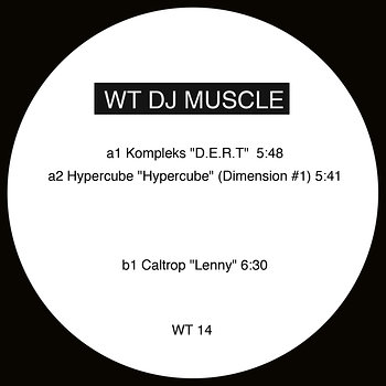 Cover art - Various Artists: WT DJ Muscle 1