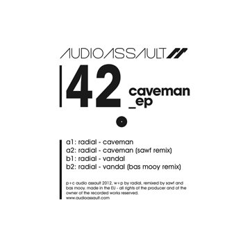 Cover art - Radial: Caveman EP