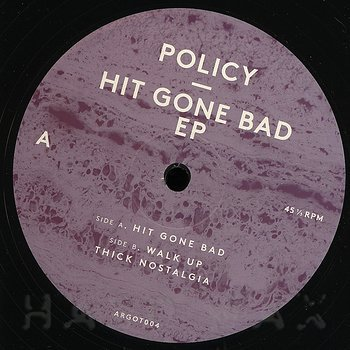 Cover art - Policy: Hit Gone Bad EP