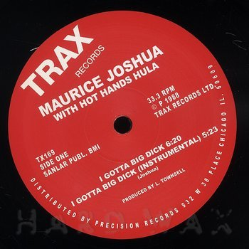 Cover art - Maurice Joshua: I Gotta Big Dick