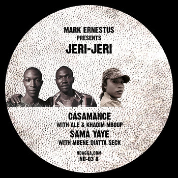 Cover art - Mark Ernestus presents Jeri-Jeri: Casamance