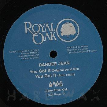 Cover art - Randee Jean: You Got It