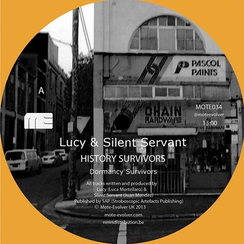 Cover art - Lucy & Silent Servant: History Survivors