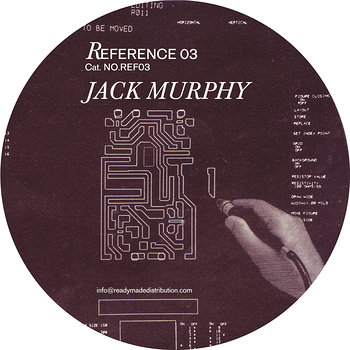 Cover art - Jack Murphy: Reference 03