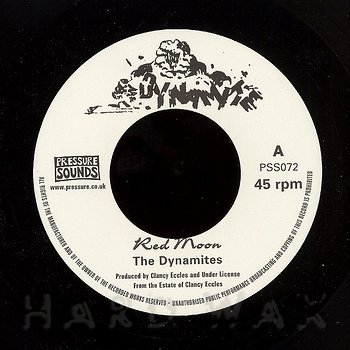 Cover art - The Dynamites: Red Moon