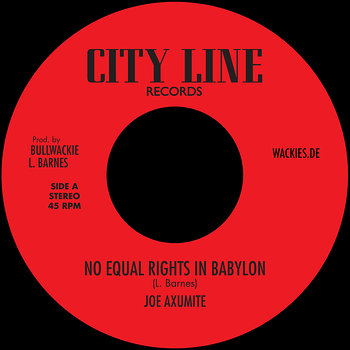 Cover art - Joe Axumite: No Equal Rights In Babylon