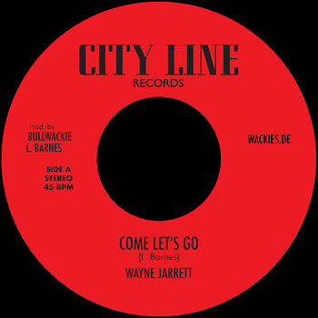 Cover art - Wayne Jarrett: Come Let's Go