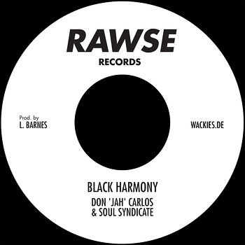 "Cover art - Don ""Jah"" Carlos: Black Harmony"