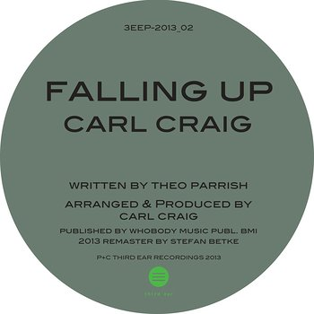 Cover art - Theo Parrish: Falling Up 2013
