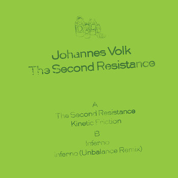 Cover art - Johannes Volk: The Second Resistance