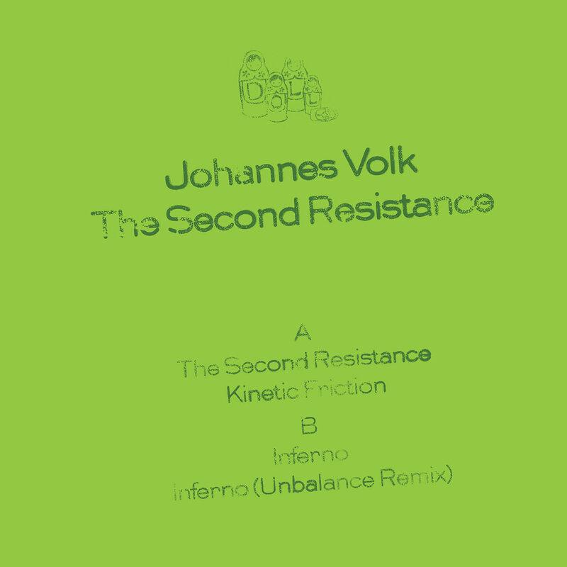 Cover art - Johannes Volk: The Second Resistance