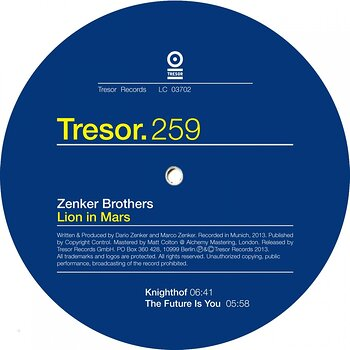 Cover art - Zenker Brothers: Lion In Mars