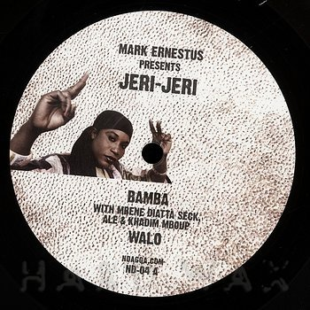 Cover art - Mark Ernestus presents Jeri-Jeri: Bamba