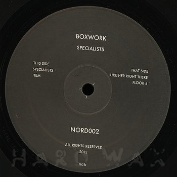 Cover art - Boxwork: Specialists